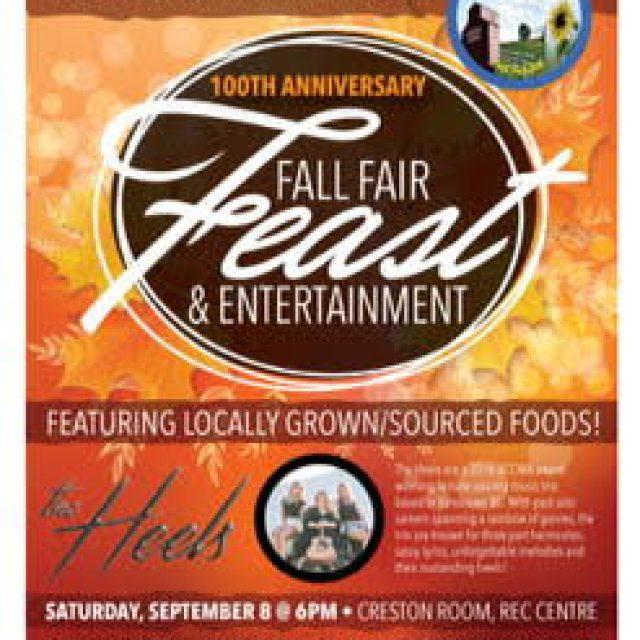 Fall Fair Feast-Locally grown foods