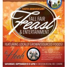 Fall Fair Feast-Locally grown foods