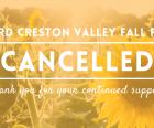 103rd Fall Fair Cancelled